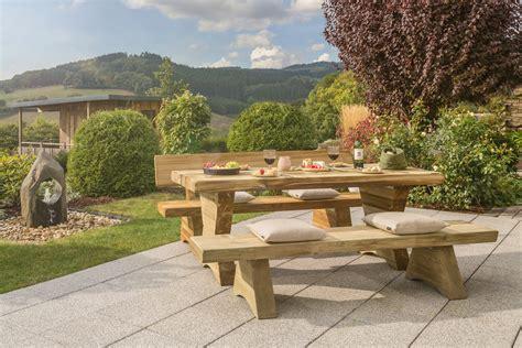 Holz Gartenmöbel Reinigen by Gartenm 195 182 Bel Und Zubeh 195 182 R Rustikal Taunus Sitzgarnitur