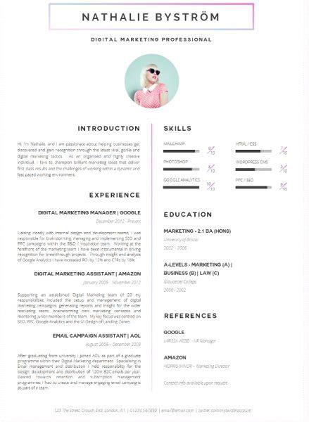 9 contoh cv kreatif untuk melamar kerja unjkita