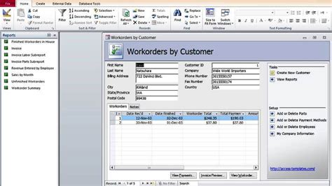 Microsoft Office Database Templates by How To Create Microsoft Access Templates From Ready