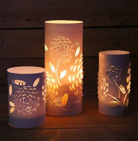 paper lantern lights diy paper lanterns with beautiful 3d flowers design a