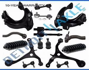 New 16pc Complete Front  U0026 Rear Suspension Kit For Acura