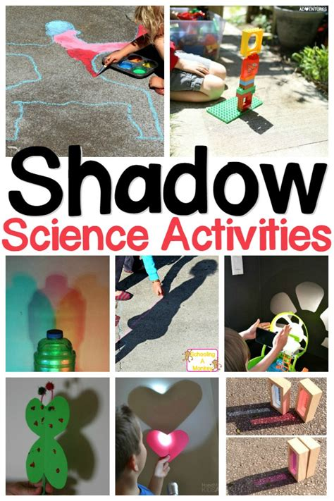 shadow activities on shadow experiments for 964 | shadow activities pin