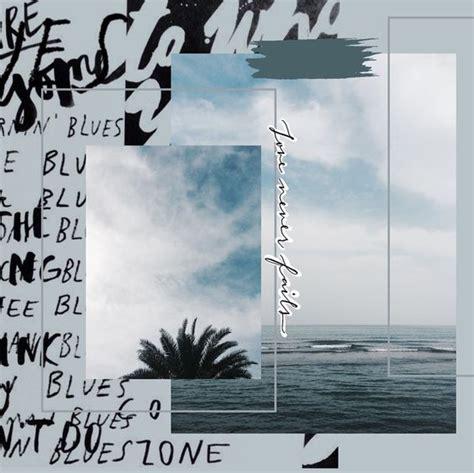 ocean ig atshathadafai collage design aesthetic