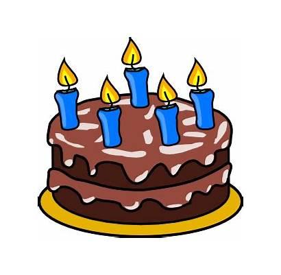 Cake Birthday Clip Clker Svg Clipart Ocal
