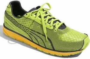 Puma Faas 250 Running Shoe in Green for Men lime dark