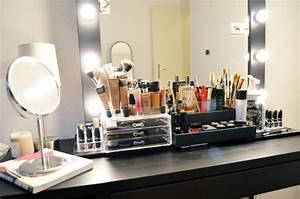 Miroir Hollywood Pas Cher : le r ve d une vie ma nouvelle coiffeuse mercredie ~ Teatrodelosmanantiales.com Idées de Décoration