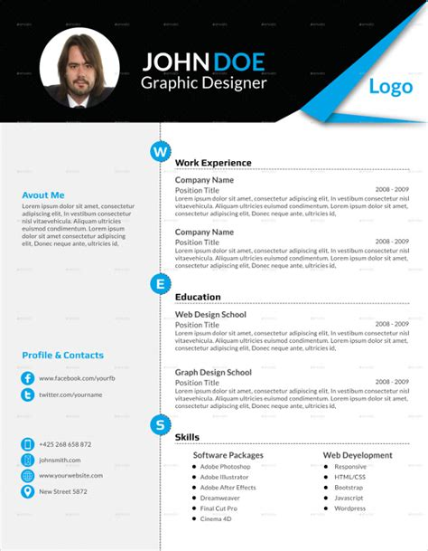 How To Fill White Space On Resume by Blank Resume Template 15 Free Psd Vector Eps Ai Format Free Premium Templates