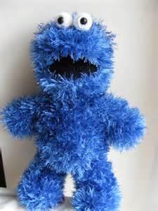 Cookie Monster Crochet Pattern