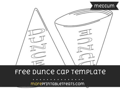Dunce Hat Template by Dunce Cap Template Medium