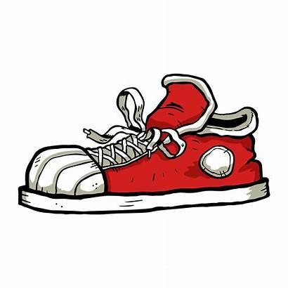 Sneaker Vector Cartoon Icon Shoes 5k Clipart
