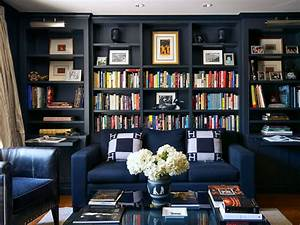 Blue Color Decoration Ideas for Living Room - Small Design