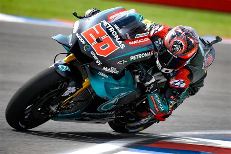quartararo pockets p  motogp termas debut outing motogp