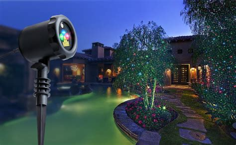 Outside Projector Lights by Outdoor Light Show Pixball