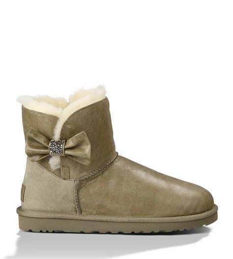 ugg bailey button bow sale ugg bailey button bow beige
