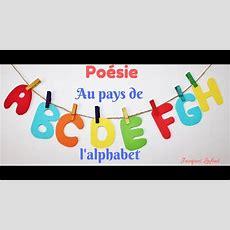 Poésie *** Au Pays De L'alphabet *** Jacques Lafont *** Youtube