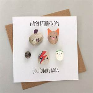 happy father's day you totally rock greeting card by bold ...