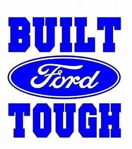 built ford tough decal sticker With kitchen cabinets lowes with ford truck window sticker