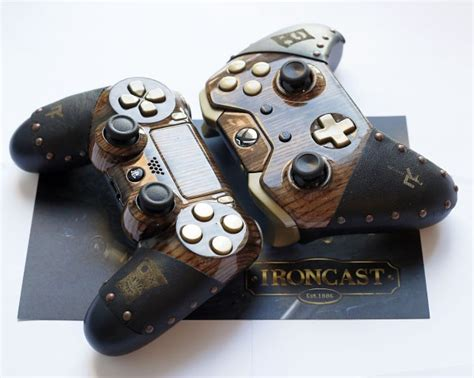 Win A Steampunk Playstation 4 Or Xbox One Controller With