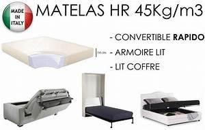 Matelas Pour Canapé Convertible 140x190 : canape convertible 190 cm maison design ~ Teatrodelosmanantiales.com Idées de Décoration