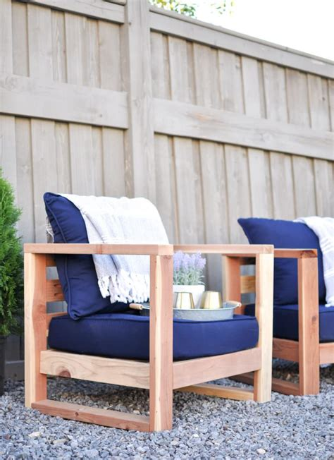 easy diy outdoor garden patio furniture  garden glove
