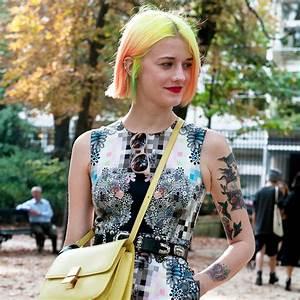 Coupe De Cheveux Carré Court : carr court m ches color es automne hiver 2016 carr ~ Melissatoandfro.com Idées de Décoration
