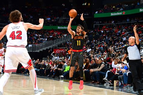 A look at the calculated cash earnings for trae young, including any upcoming years. Atlanta Hawks: Sorry Dame, Trae Young is NBA's Best Deep Shooter