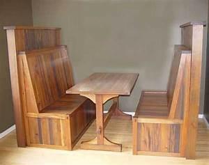 Rustic Wood Restaurant Booths