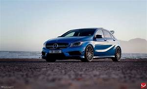Mercedes A45 Amg Tuning : vossen wheels mercedes a45 amg blue tuning cars wallpaper ~ Jslefanu.com Haus und Dekorationen