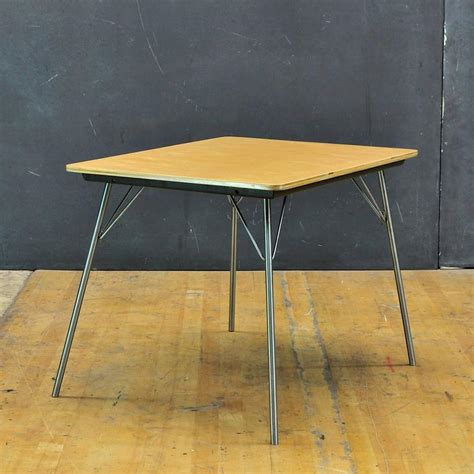 herman miller folding table 1947 charles and ray eames it 1 incidental folding side