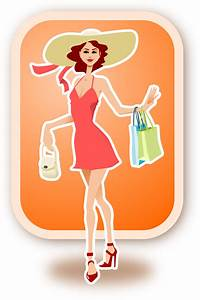 Woman Shopping Clipart - Clipart Suggest