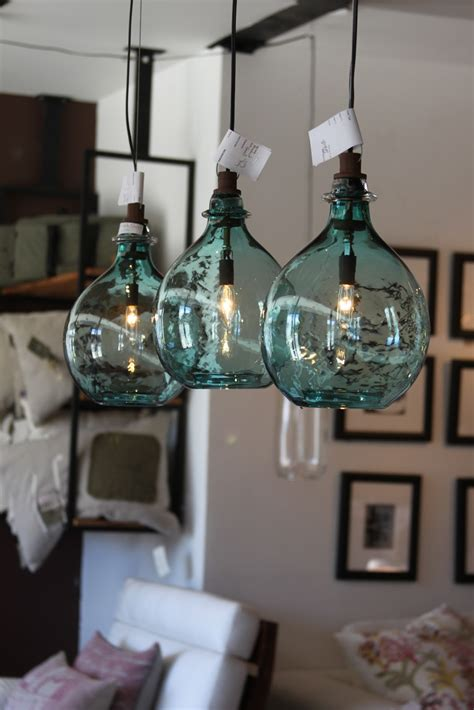 sea glass globe lights pinterest home decor
