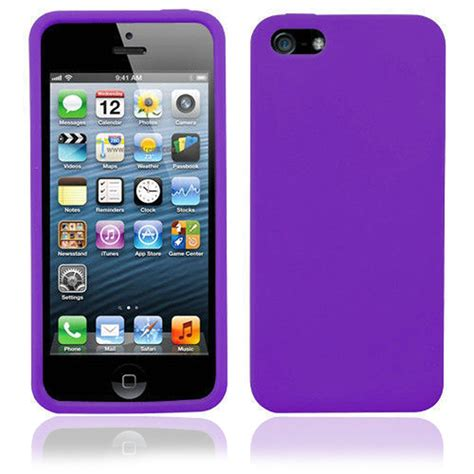 iphone 5s silicone silicone for iphone 5 5s purple