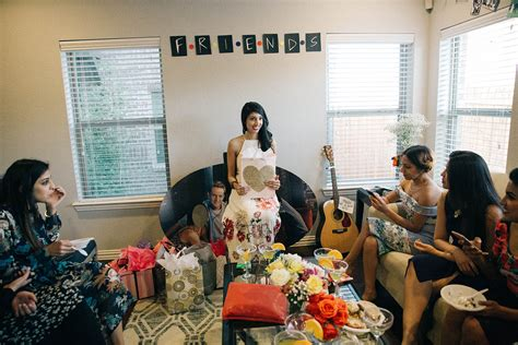 Friends Themed Bridal Shower