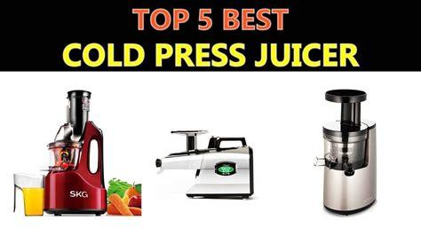 juicer cold press youtu