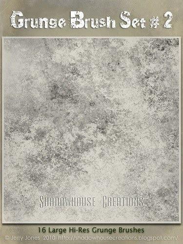 Shadowhouse Creations: Grunge Brush Set 2