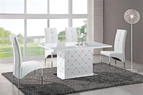 salle a manger strass salle 224 manger meubl 233 et design blanc meuble et d 233 coration marseille mobilier design