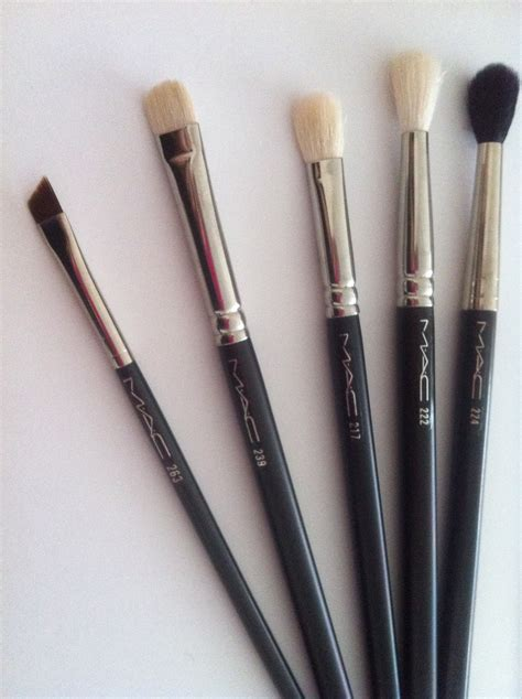 daniellelovemakeup  top  mac eye brushes  beginners