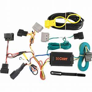 Curt Custom Wiring Harness  4-way Flat Output -55525