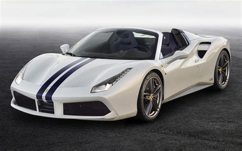 Overview there's a strong case to be made that the ferrari 488 spider is the single greatest modern automobile for sale in all the world. 2017 Ferrari 488 Spider The White Spider - Wallpapers and HD Images | Car Pixel