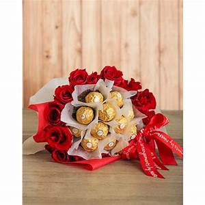 Red Roses and Ferrero Bouquet   South Africa   inMotion ...