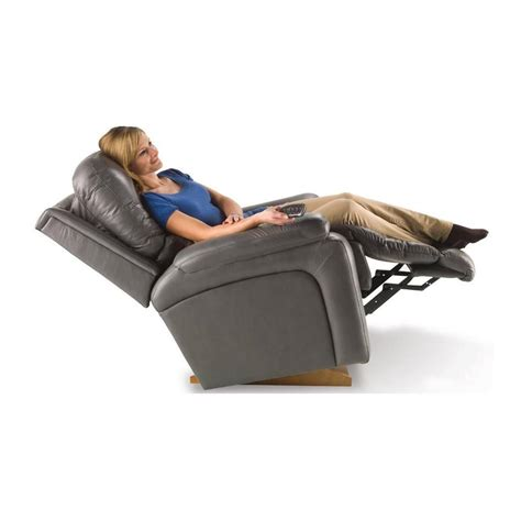 buy la z boy electric leather recliner greyson in