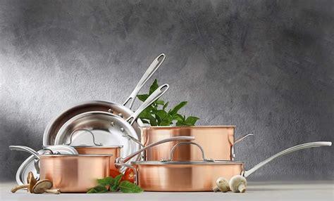 top   copper cookware sets   money  reviews