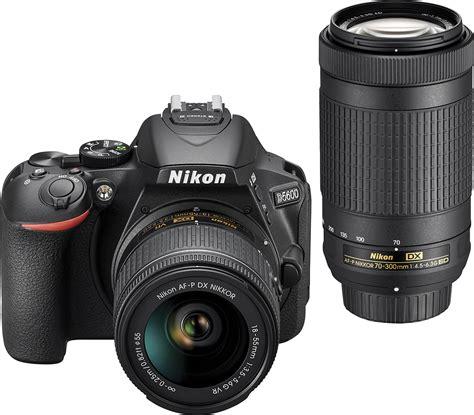 buy nikon digital nikon d5600 dslr with 18 55mm and 70 300mm lenses