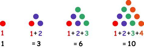 triangular numbers classroom activity  kids