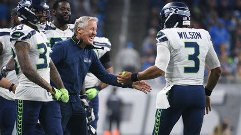 pete carroll approached russell wilson   future