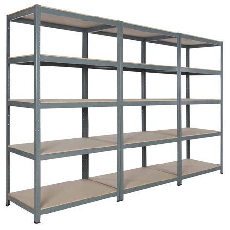 shelf units hxwxd steel commercial garage