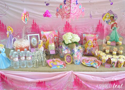A Disney Princess Party On A Budget, Plus Free Printables