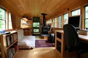 School Bus Converted Into Mobile Home «TwistedSifter