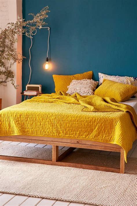 20+ Stunning Mustard Yellow Bedroom Decor Modernhousemagz