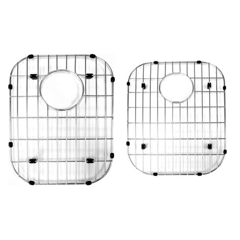 kitchen sink protector grid stainless steel sink protector grid for 60 40 bowl 5911